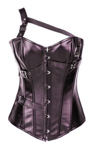 Gothic Influenced Leather Corset