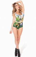 ALICE AND CATERPILLAR SWIMSUIT
