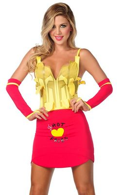 Sexy French Fries Costume