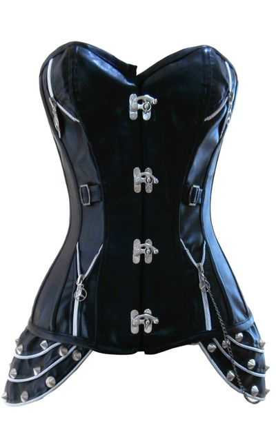 Newly Steel Bone Corset with High Quality