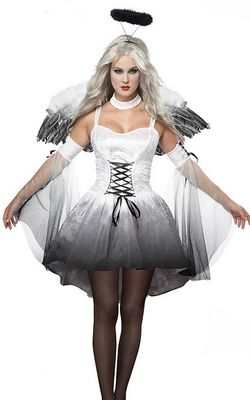 F1437 Angel Of Darkness Costume