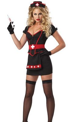F1449 Cardiac Arrest Nurse Costume