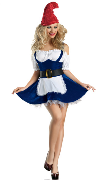 F1469 Sexy Gnome Costume Adult