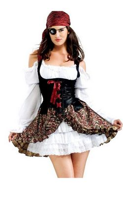 F1475 Ladies Costume Buccaneer Babe