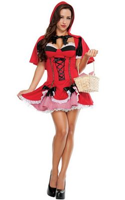 F1477 Miss Riding Hood Costume