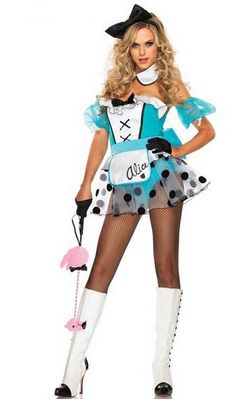 F66130 Sexy Bad Girl Alice Costume