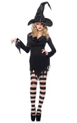 F1500   Sexy Standard Witch Costume