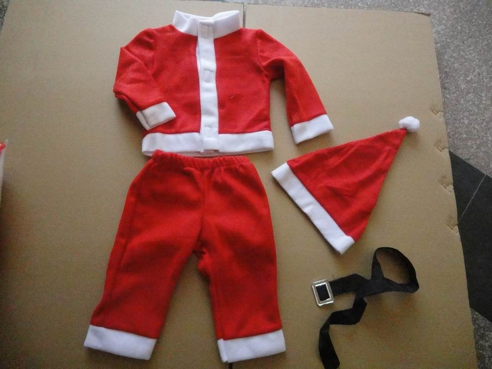 F68006-1 2-4 Years Kids  Boy Coat and Pant  Baby Christmas Clothing Sets