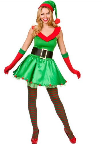 F1513 Santas Sexy Little Helper Costume Adult