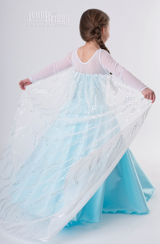 F68007 Frozen series Girls Dress