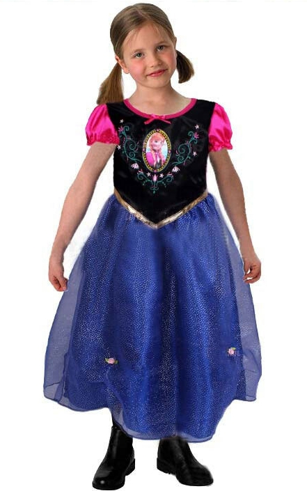 F68013 Frozen Anna dress