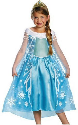 F68017  Frozen transparent gauze dress