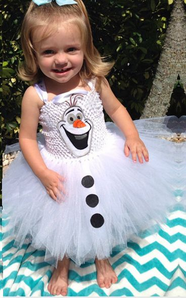 F68023 Frozen gauze tutu princess dress