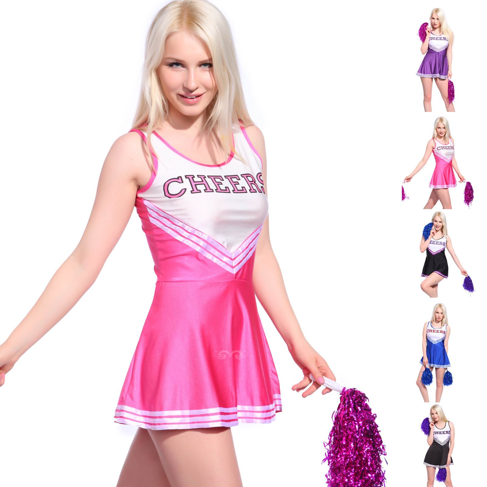 F1537-4 Ladies Cheerleading Costumes Outfit