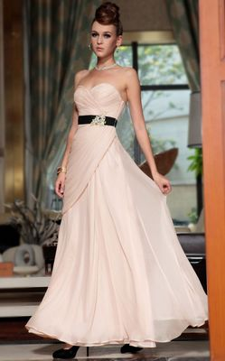F70823 Strapless party dress
