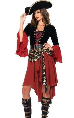 F1549 Cruel Seas Captain Adult Costume