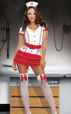 F1550 Hospital Hottie Nurse Costume