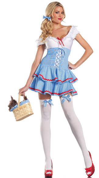 F1552 Sweet Dorothy Adult Womens Wizard of Oz Costume