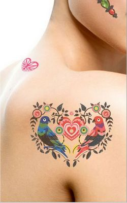 N054 sexy body art tattoos