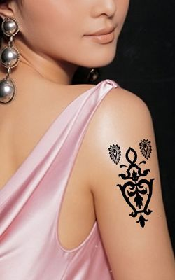 N062 women fashion tattoos