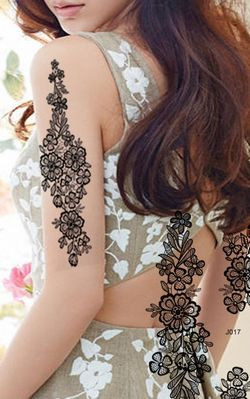 N065 sexy arm tattoos for women