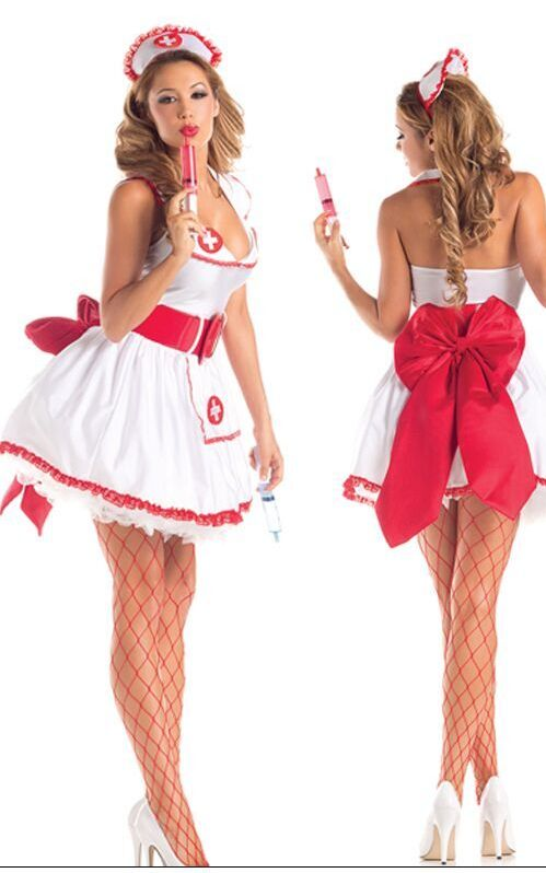 F1558 Temptress Nurse Betty Costume