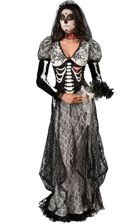 F1567 Day of the Dead Bride Adult Costume