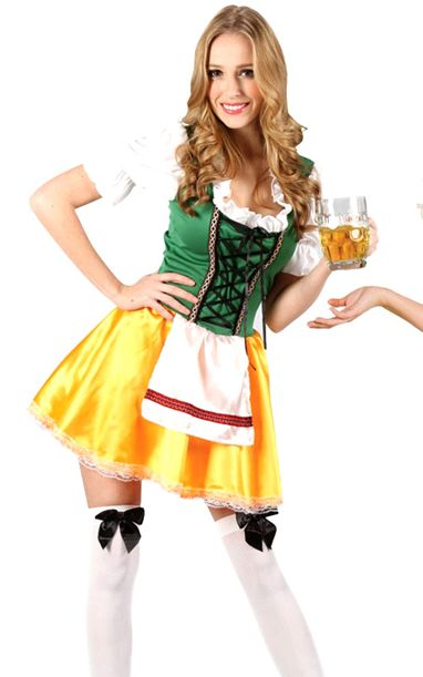 F1578 Sexy Beer Girl Costume