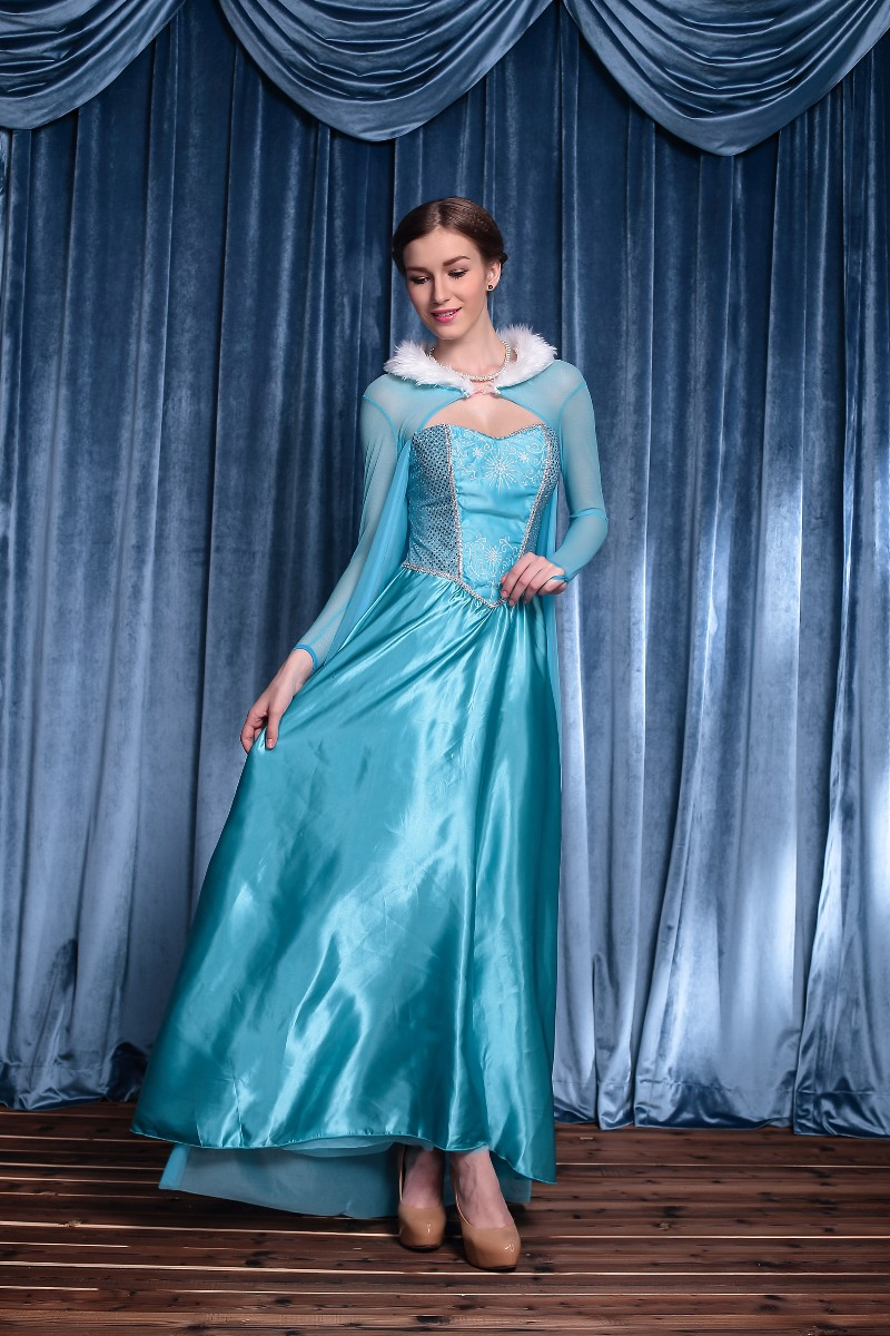 F1584 Adult Snow Queen Costume