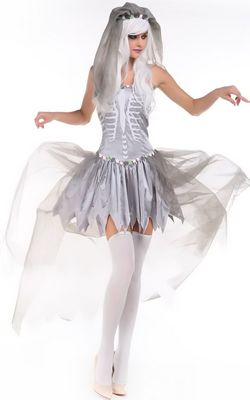 F1592 Bride Of Doom Costume