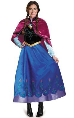 F66154 FROZEN PRINCESS ANNA COSTUME