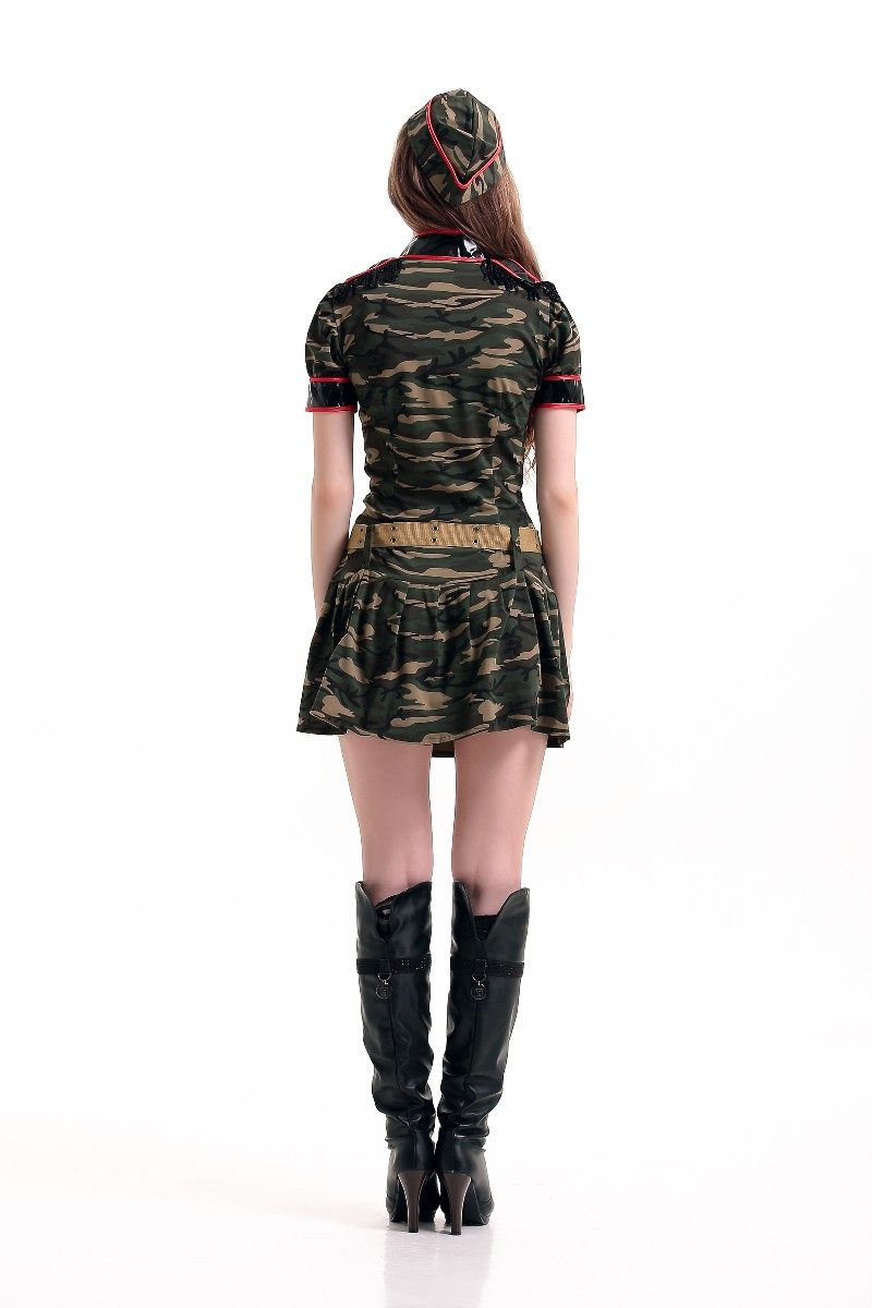F66161 Wholesale Womens Soldier Costume