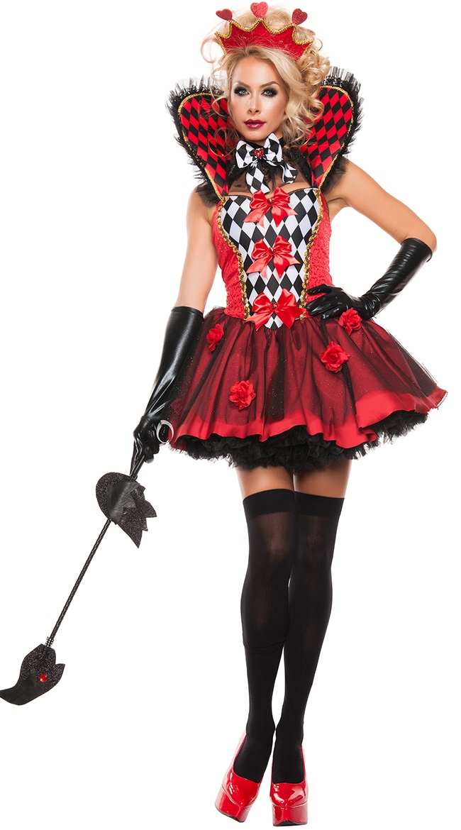 F66179 Royal Queen Of Hearts Costume