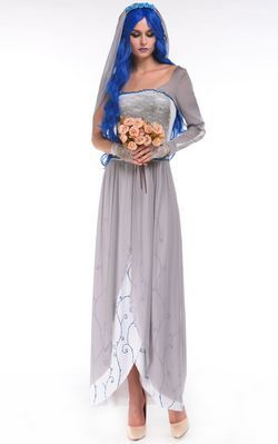 F66180 3pc Dead Bride Costume