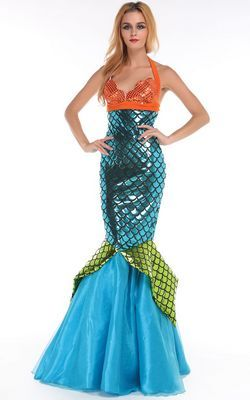 F66183 Deluxe Sea Mermaid Costume