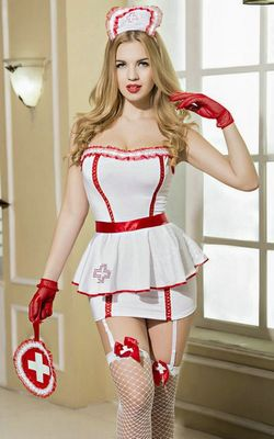 F1599 personal care nurse costume