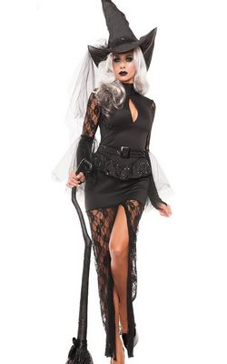 F1601 ADULT GLAM WITCH COSTUME