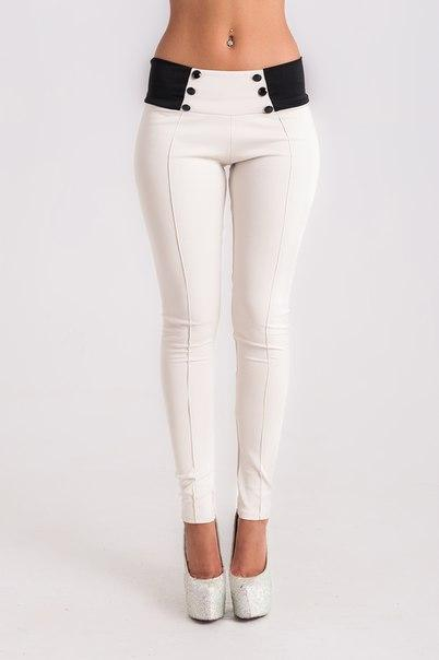 F8904-1 STYLISH MID-WAISTED BUTTON EMBELLISHED SLIMMING PANTS FOR WOMEN