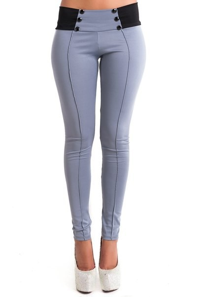 F8904-3 Pencil Fitted Pants