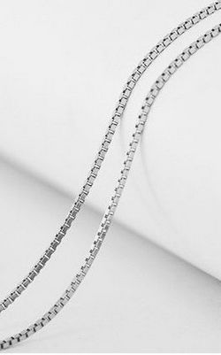 SS11028-2 S925 sterling silver necklace