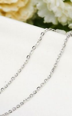 SS11028-6 S925 sterling silver necklace