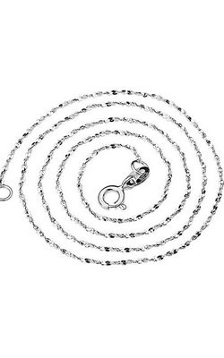 SS11028-7 S925 sterling silver necklace