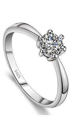 SS11056  luxury wedding crystal ring