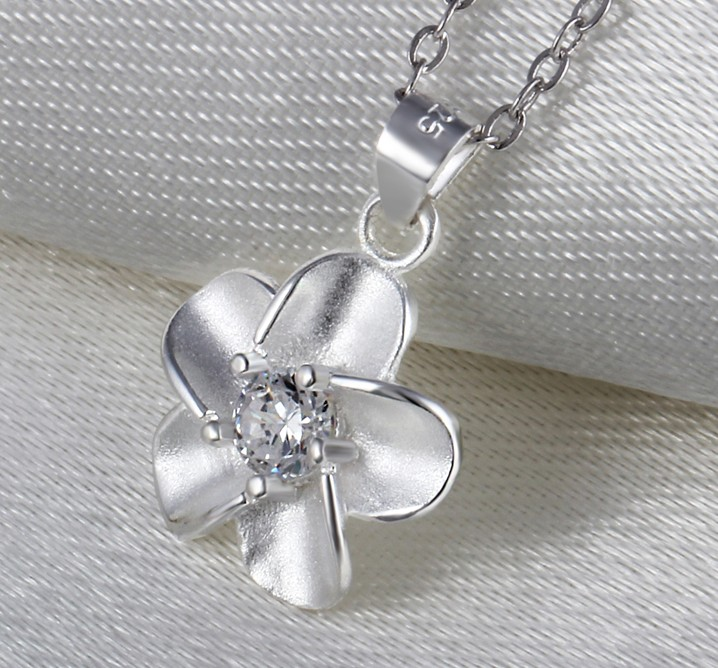 SS11066 S925 Silver Europe retro fashion  necklace