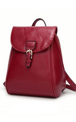 BB1007-2 pu leather backpack