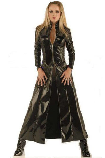 F9078 T Latex Party Costume outfit