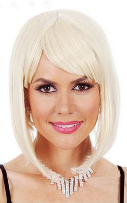 H040 HIGH QUALITY LONG BOB COSTUME WIG