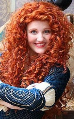 H042 fashion curly hair wig