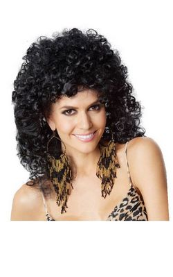 H043 Individual corn to be small and micro curly wig short hot curly hair