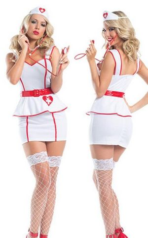 F1608 Personal Care Nurse Costume
